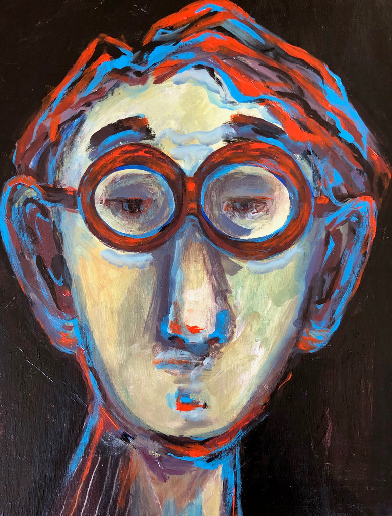 Diane McCarten, Man in the Glasses