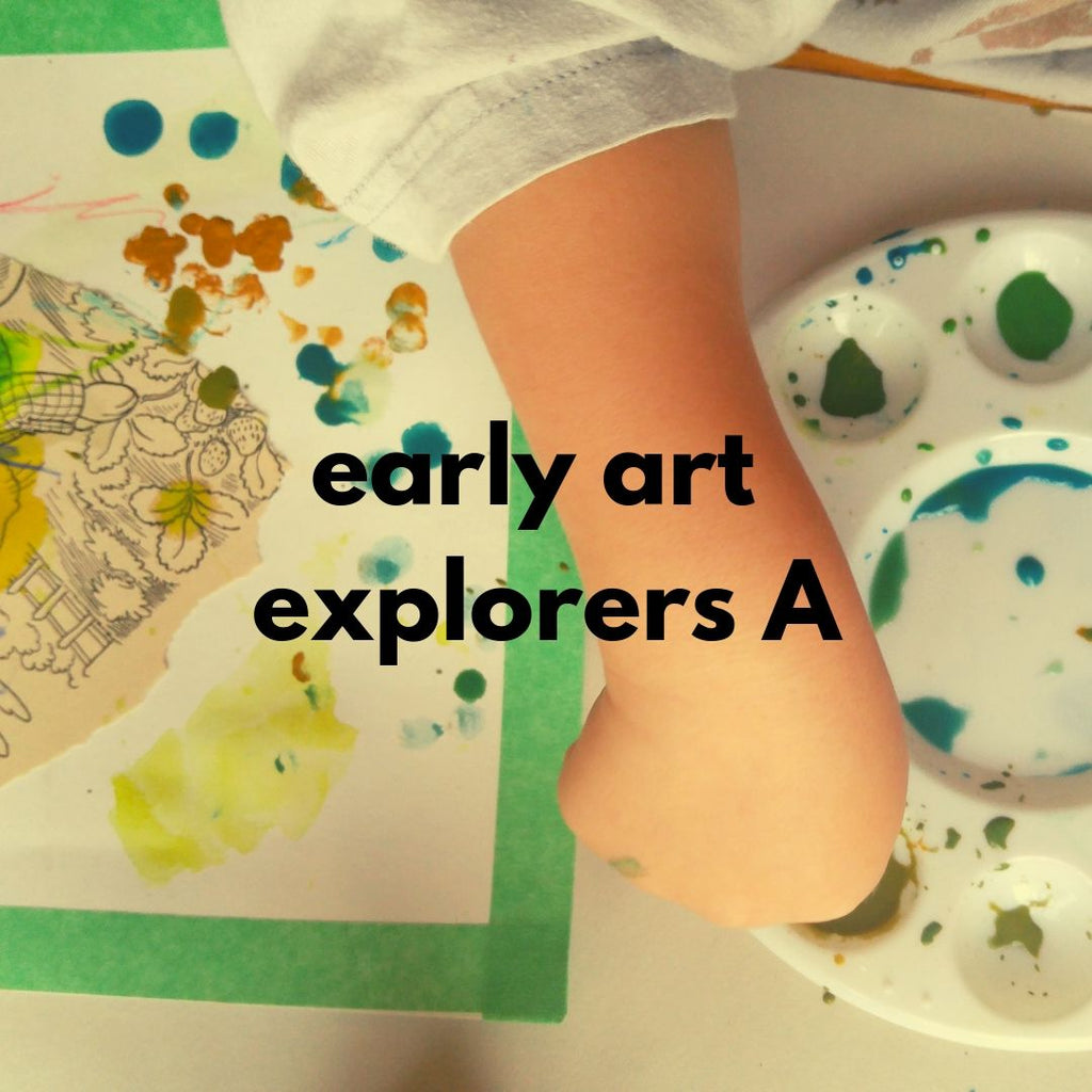 Early Art Explorers - class A (Fall 2019 | ages 2-3 with 1 caregiver)