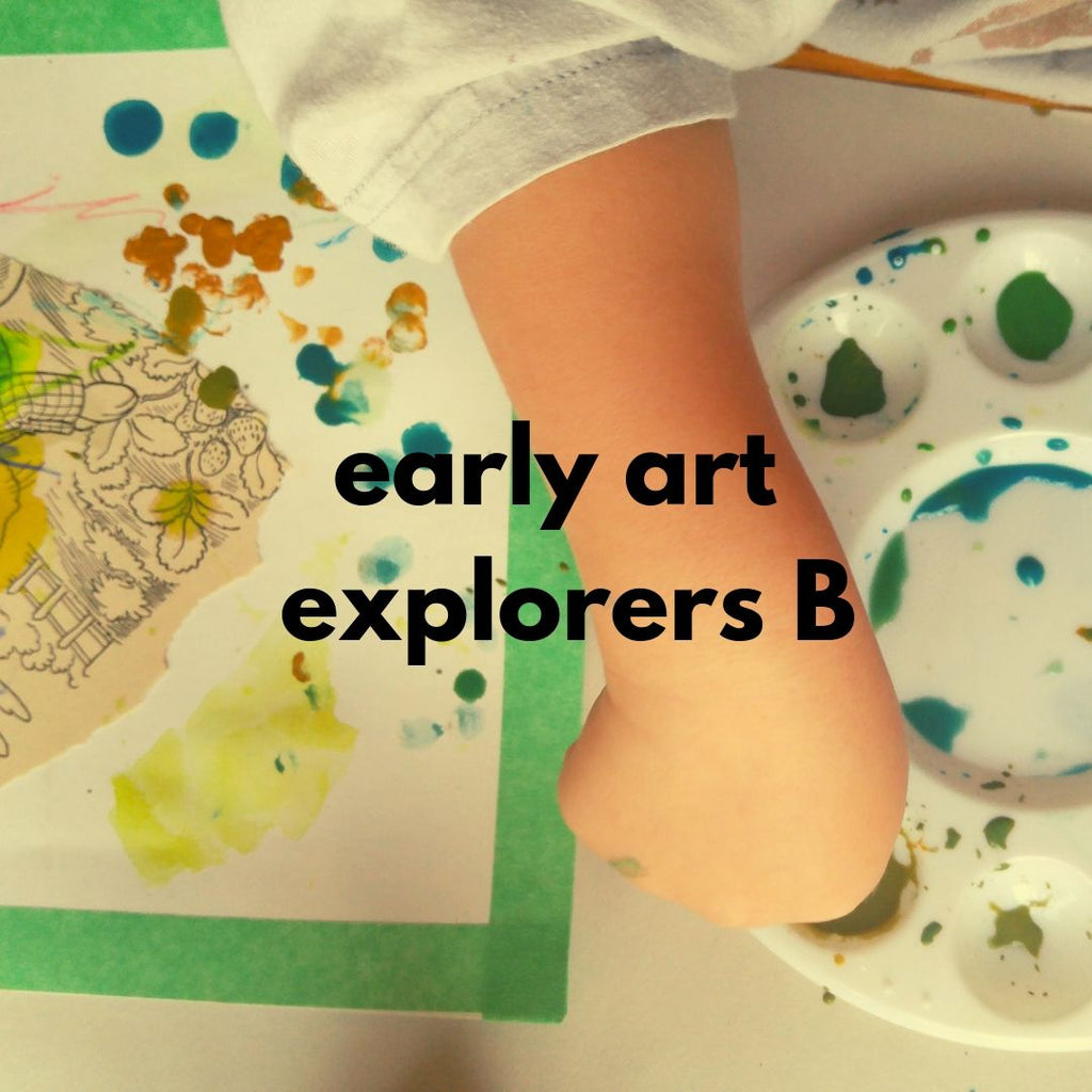 Early Art Explorers - class B (Fall 2019 | ages 2-3 with 1 caregiver)