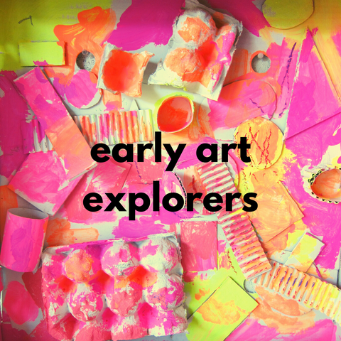Early Art Explorers (Winter 2020 | ages 2-3 with 1 caregiver)