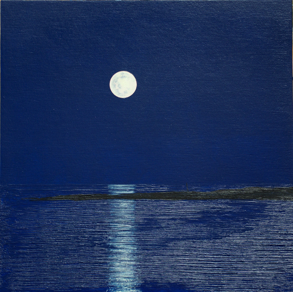 Ed Hughes, Moonrise, Trial Island