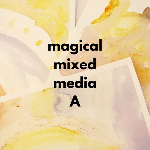 Magical Mixed Media A (Fall 2019 | ages 4-6)