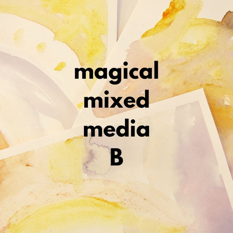 Magical Mixed Media B (Fall 2019 | ages 4-6)