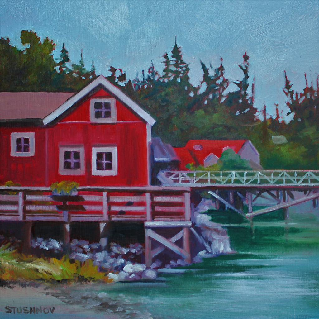 Sharlene Stushnov-Lee, Wickham Net Shed, Bamfield