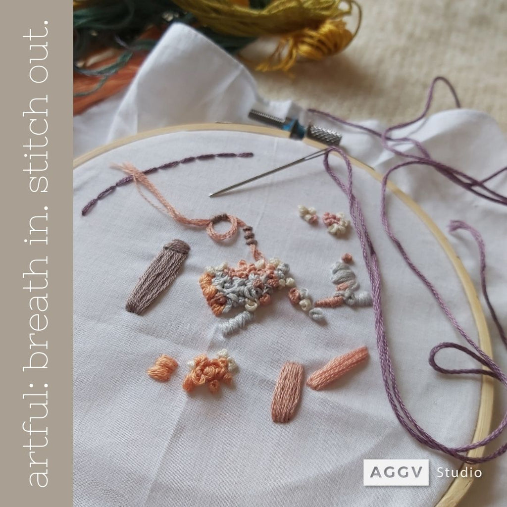 artful: Breathe In. Stitch Out (winter 2021 | adult workshop | in-person)