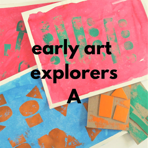 Early Art Explorers - class A (Spring 2019 | ages 2-3 with 1 caregiver)