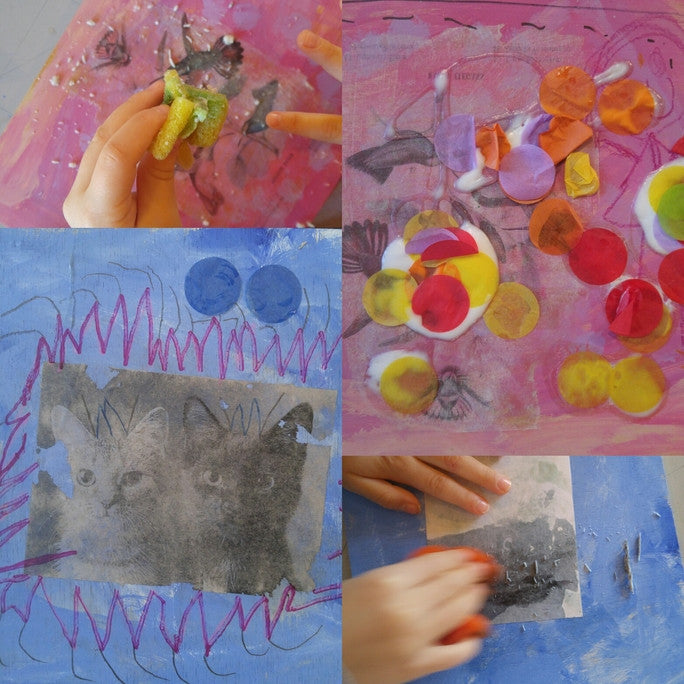 Experiments in Art. . . .and Play! (ages 4-6)
