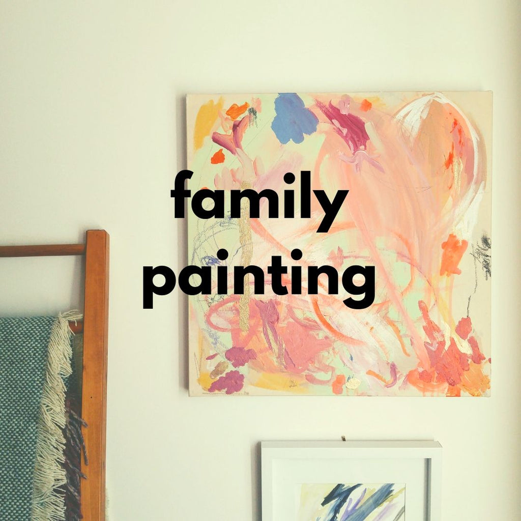 Family Painting (Fall 2019 | 1 adult and up to 2 children)