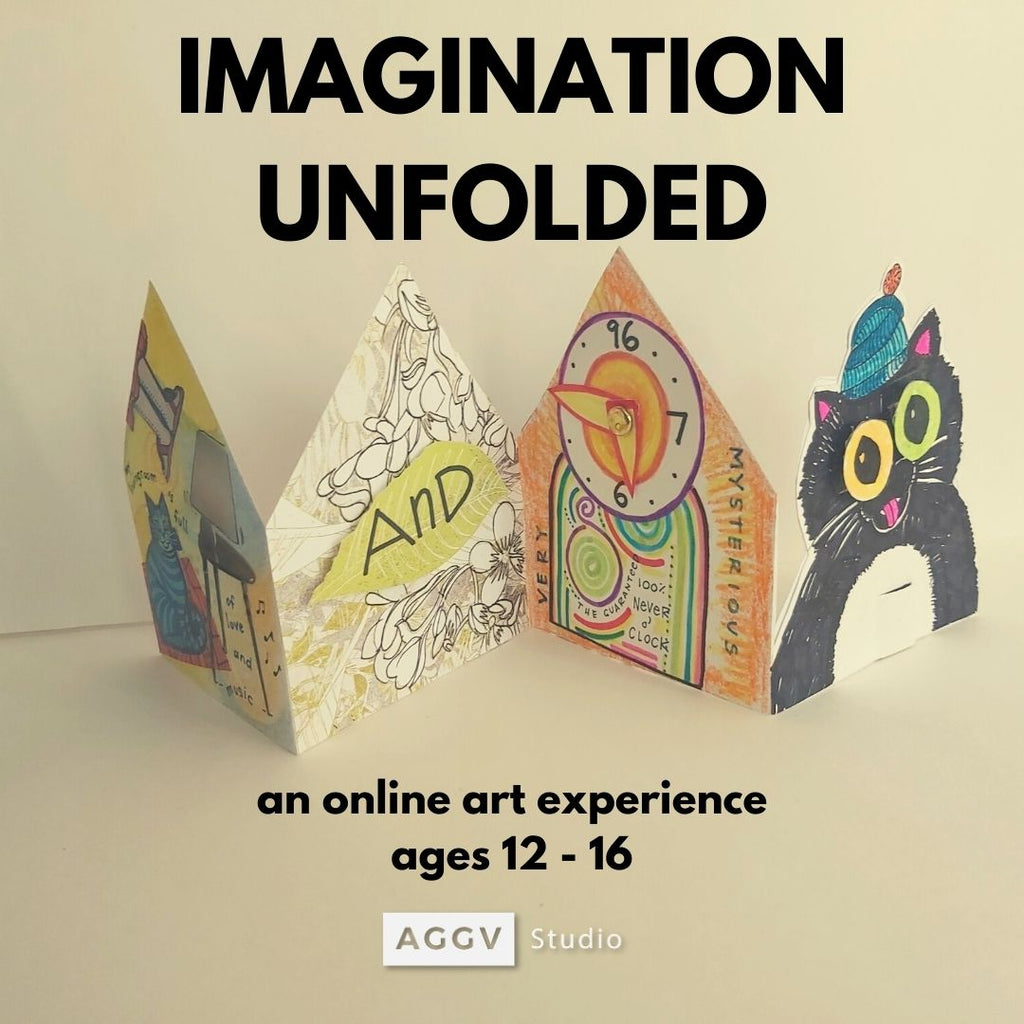 Imagination Unfolded (Fall 2020 | ages 12-16 | online)