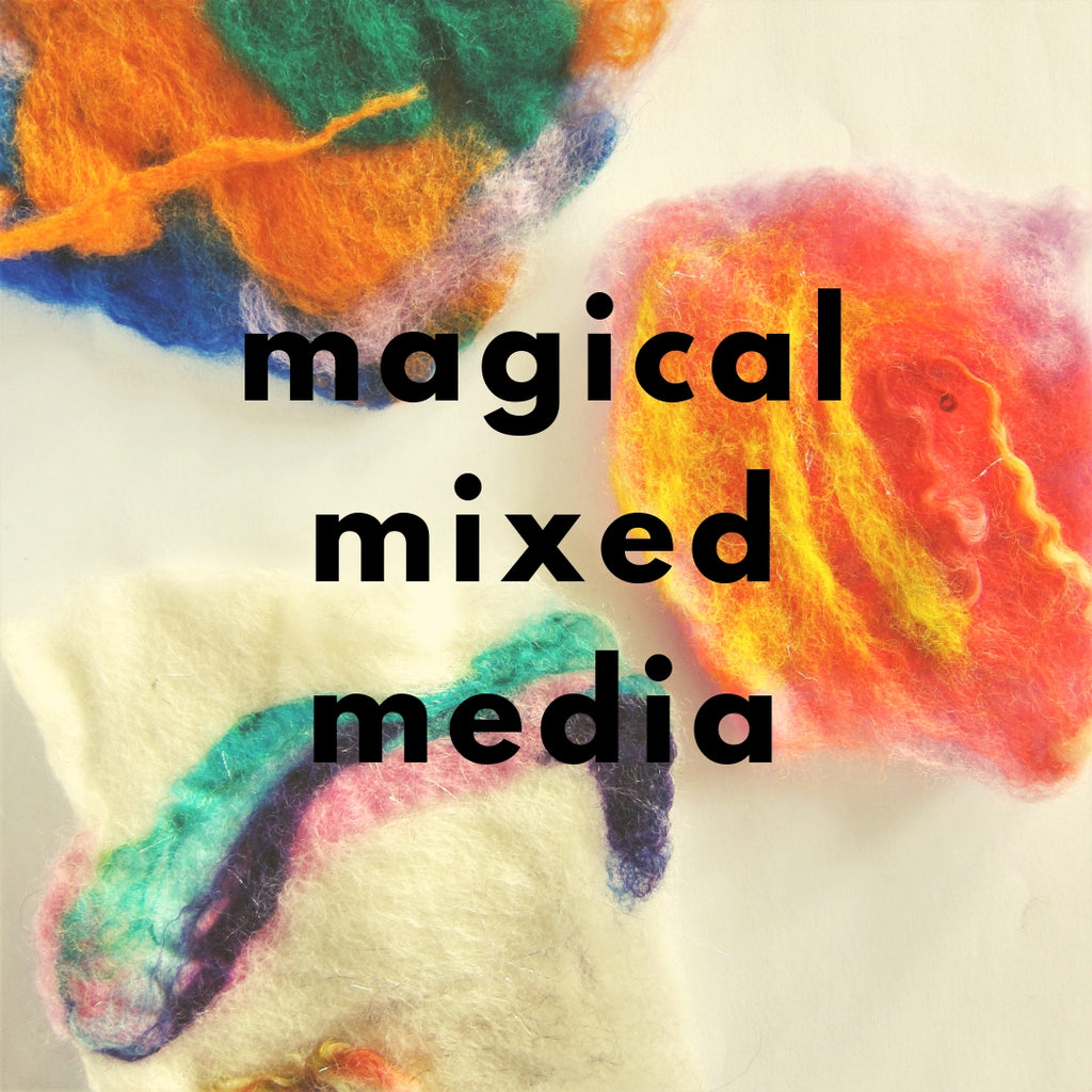 Magical Mixed Media (Spring 2019 | ages 4-6)