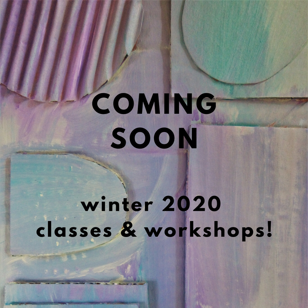 COMING SOON | Winter 2020 Studio Programs