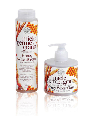 Honey Wheat Germ Liquid Soap