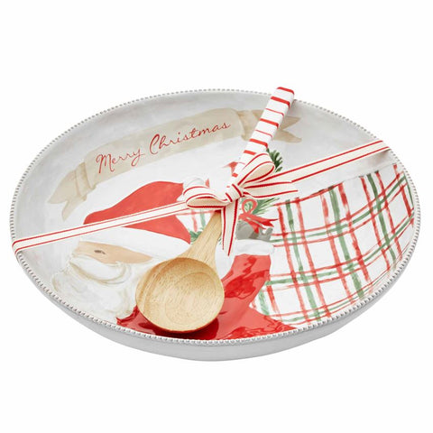 Santa Serving Bowl Set