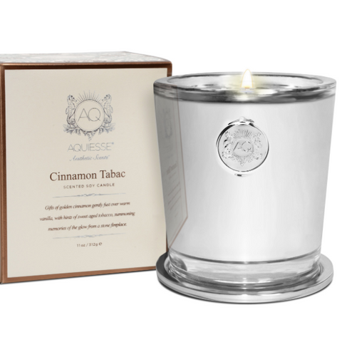 Cinnamon Tabac - Large Candle in Gift Box