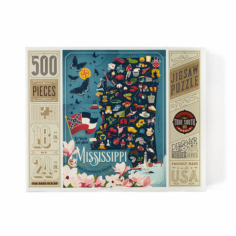 Mississippi 500 Piece Puzzle