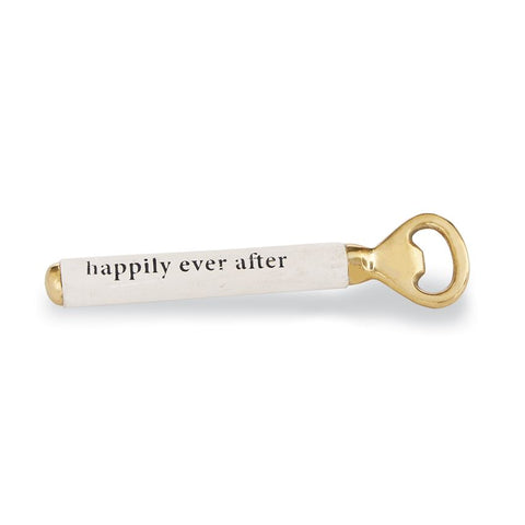 Happily Ever After Wedding Bottle Opener