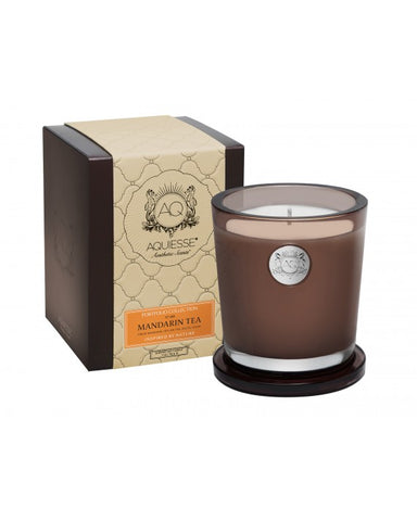 Mandarin Tea - Large Candle in Gift Box