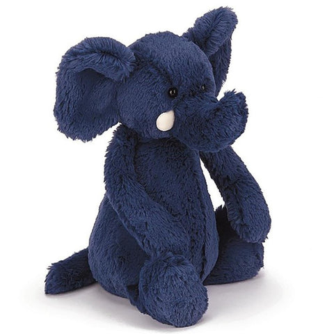 Bashful Blue Elephant - Medium