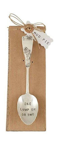 """One Lump or Two"" Coffee Spoon"