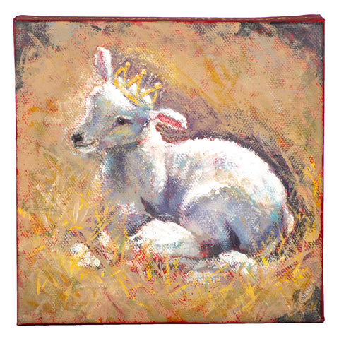 Hamilton Lamb and Crown Canvas