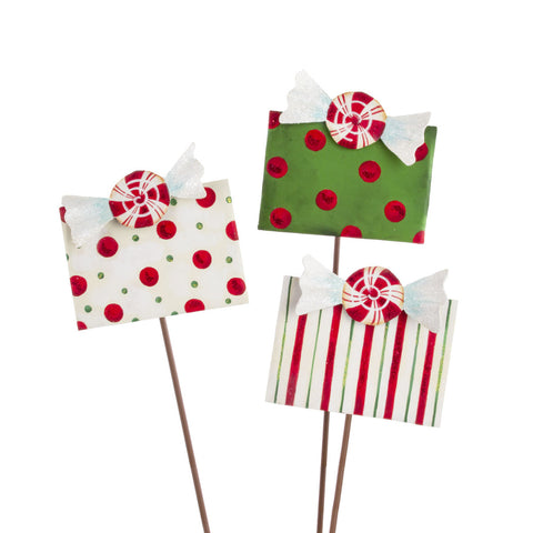 Peppermint Packages - Set of 3
