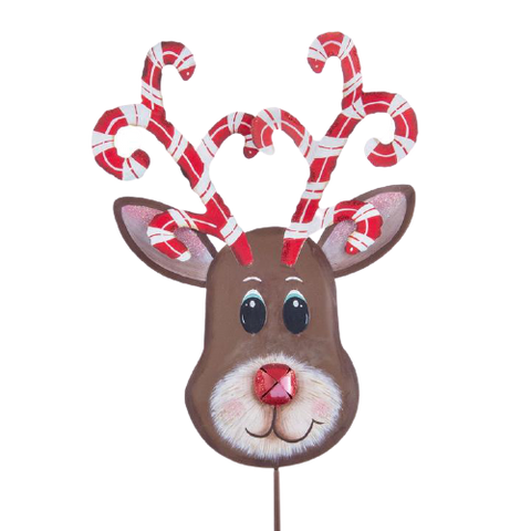 Candy Cane Reindeer - Small or Large