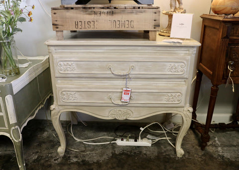 Painted Vintage Chest