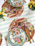 Die-Cut Bunny Bouquet Placemat