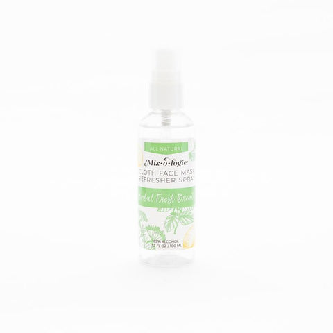 Face Mask Refresher Spray - Herbal Mint
