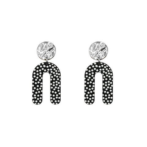 Silver Dottie Earrings