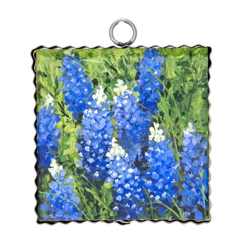 Mini Wild Bluebonnets Print