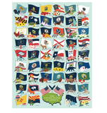 State Flags 1000 Piece Puzzle