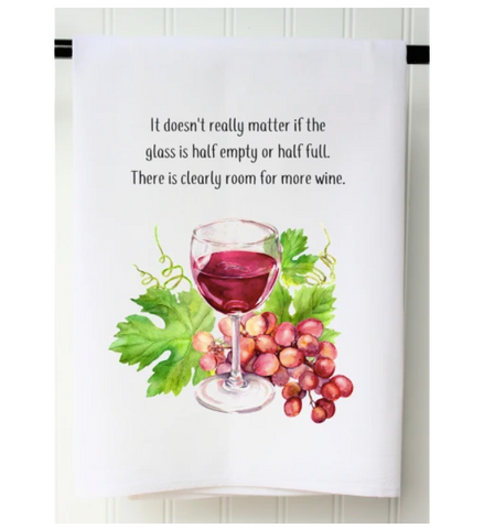 Room For More Wine Towel