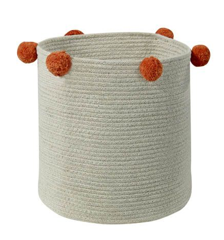 Basket Bubbly Natural - Terracota