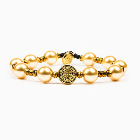 Divine Beauty Blessings Bracelet - Gold or Silver