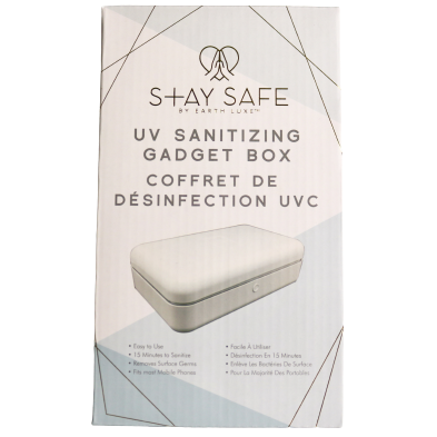 Stay Safe UV Sanitizing Gadget Box
