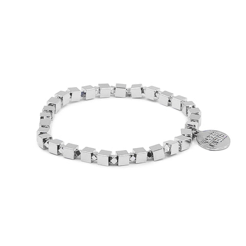 Goddess Collection - Fiona Silver Bracelet