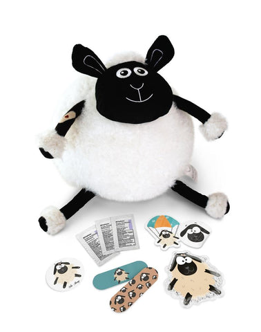 First Aid Kit You Can Cuddle! Arlo Sheep