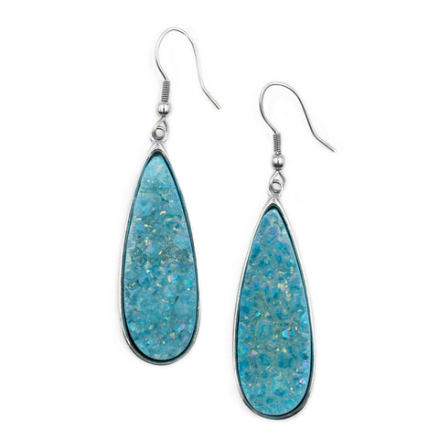 Silver Azure earrings/silver/Kinsley Armelle