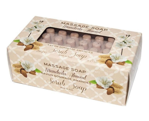 Massage Scrub Soap - Almond