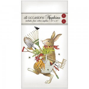 Garden Tools Rabbit Casual Napkins
