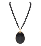 Onyx Coal Necklace