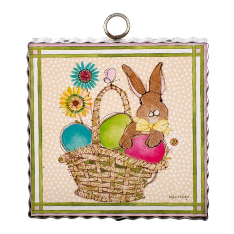Mini Rawlings Bunny Basket Print