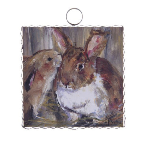 Mini Rozie's Bunny Love Print