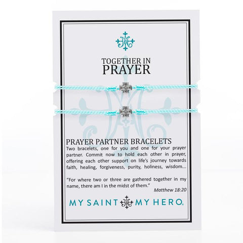 Together in Prayer Bracelet Set