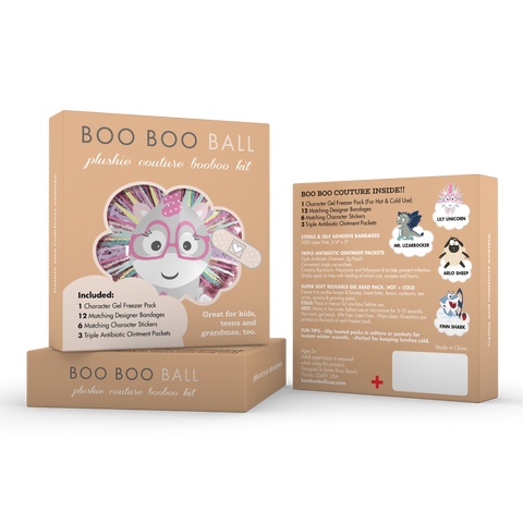 Refill Kit / Mini Boo Boo Kit - Lily Unicorn
