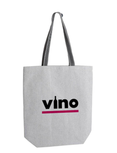 Vino Recycled Tote Bag