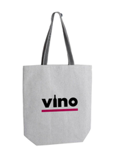 Load image into Gallery viewer, Vino Recycled Tote Bag & Vino Corkscrew