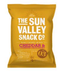 Sun Valley Cheddar & Onion 40G