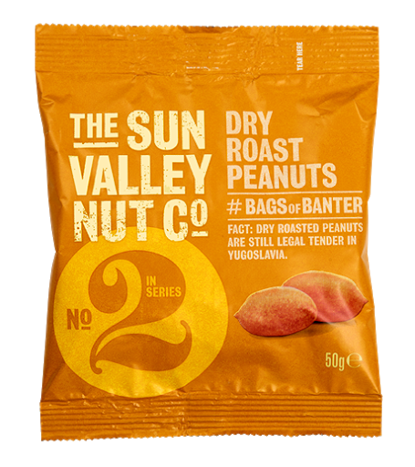 Sun Valley Dry Roasted 50g